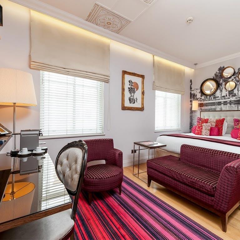 Hotel Indigo London Hyde Park Paddington Standard Queen Rooms