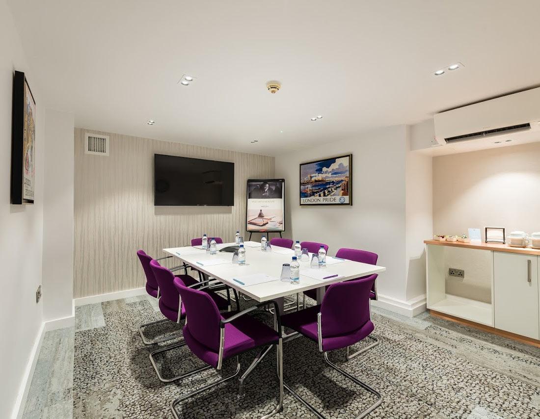 Mercure London Paddington Hotel Meeting Room