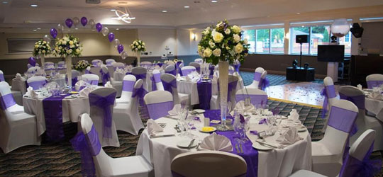 Holiday Inn Leicester Wigston Wedding