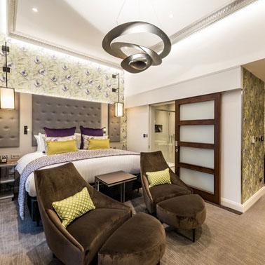 Mercure London Hyde Park Hotel Junior Suite
